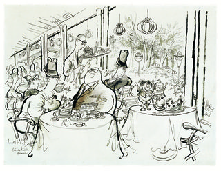 Ronald Searle, Café am Kröpcke