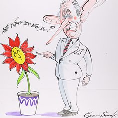 Gerald Scarfe: »And What Do You Do?«, 2005